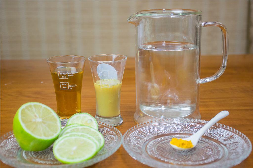 完美的薑黃蜂蜜檸檬比例|豐滿生技薑黃料理廚房